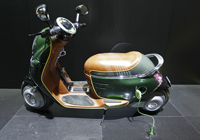 motorized scooter-image from dreamstime.com