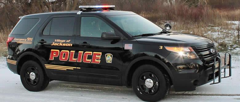 Jackson Police Squad Car
